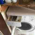 3.a washing machine- before cleaning