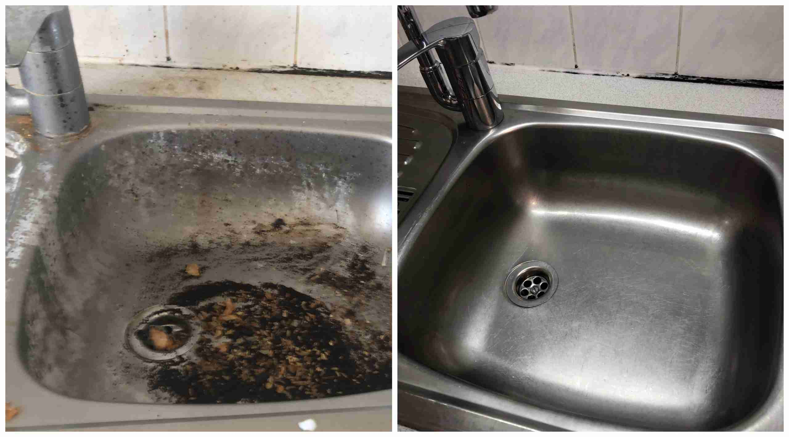 Kitchen Sink Cleaning - Wimbledon Cleaning Services